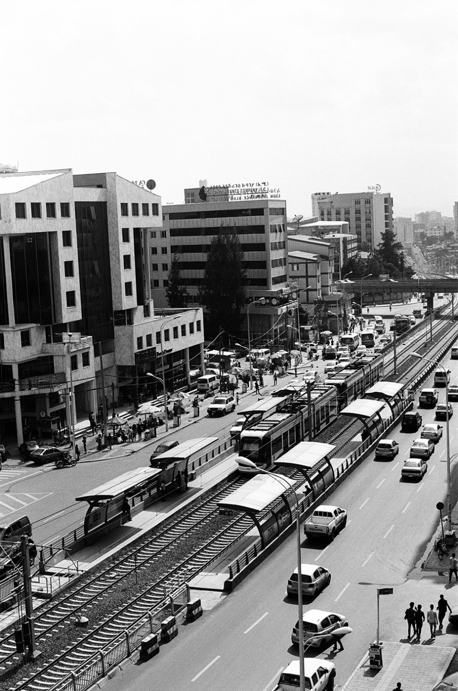 7 - Addis street with new tram